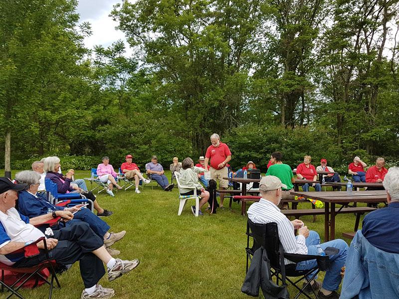 June picnic in Mill Creek Park